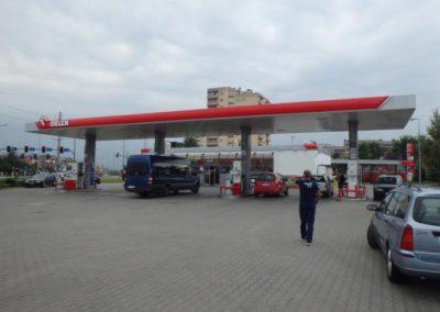 Petrol Station, Krakow