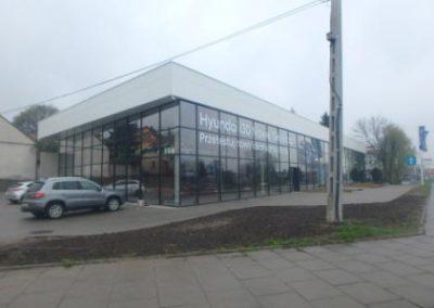 Car showroom, Kraków