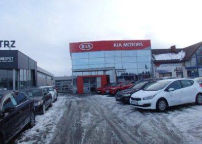 Car showroom, Nowy Targ