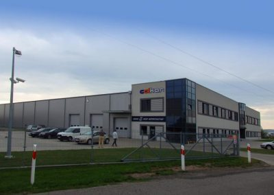 Office and Warehouse building, Niepołomice