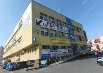 Budynek handlowo  biurowy - Kraków
